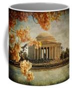 The Jefferson Memorial Coffee Mug by Lois Bryan