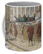 The Judgement On The Gabbatha Coffee Mug by Tissot