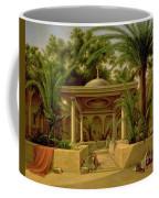 The Khabanija Fountain In Cairo Coffee Mug by Grigory Tchernezov