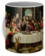 The Last Supper Coffee Mug by Vicente Juan Macip