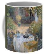 The Luncheon Coffee Mug by Claude Monet