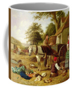 The Market Cart Coffee Mug by Henry Charles Bryant
