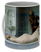 The Massage Coffee Mug by Edouard Debat-Ponsan