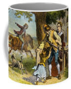 The Midnight Ride Of Paul Revere 1775 Coffee Mug by Photo Researchers