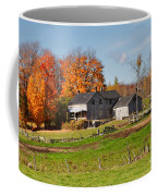 The Old Farm In Autumn Coffee Mug by Louise Heusinkveld