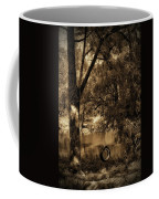 The Old Tire Swing Coffee Mug by Bill Cannon