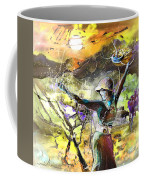 The Parable Of The Sower Coffee Mug by Miki De Goodaboom