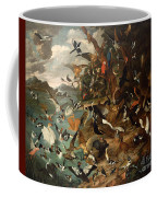 The Parliament Of Birds Coffee Mug by Carl Wilhelm de Hamilton
