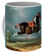 The Piebald Horse Coffee Mug by Johann Georg Hamilton