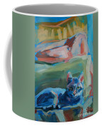 The Princess And The Pea - Sketch Coffee Mug by Kimberly Santini