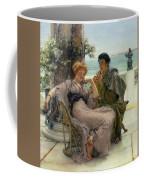 The Proposal Coffee Mug by Sir Lawrence Alma Tadema