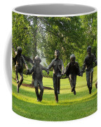 The Puddle Jumpers At Byers Choice Coffee Mug by Trish Tritz