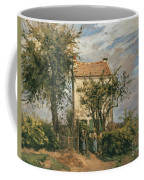 The Road To Rueil Coffee Mug by Camille Pissarro