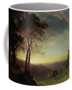 The Sacramento River Valley  Coffee Mug by Albert Bierstadt
