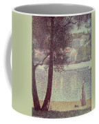 The Seine At Courbevoie Coffee Mug by Georges Pierre Seurat