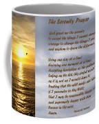 The Serenity Prayer Coffee Mug by Barbara Snyder