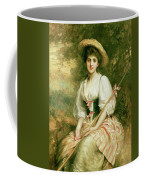 The Shepherdess Coffee Mug by Sir Samuel Luke Fildes