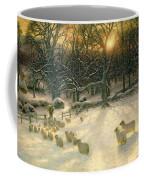 The Shortening Winters Day Is Near A Close Coffee Mug by Joseph Farquharson