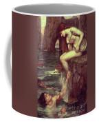 The Siren Coffee Mug by John William Waterhouse
