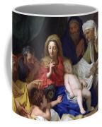 The Sleeping Christ Coffee Mug by Charles Le Brun