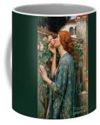 The Soul Of The Rose Coffee Mug by John William Waterhouse