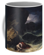 The Storm Or The Shipwreck Coffee Mug by Theodore Gericault