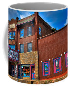 The Strand Theatre - Old Forge New York Coffee Mug by David Patterson