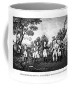 The Surrender Of General Burgoyne Coffee Mug by War Is Hell Store