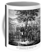 The Surrender Of General Lee  Coffee Mug by War Is Hell Store