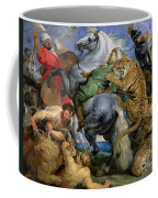 The Tiger Hunt Coffee Mug by Rubens