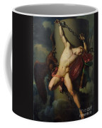The Torture Of Prometheus Coffee Mug by Jean-Louis-Cesar Lair