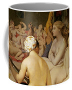 The Turkish Bath Coffee Mug by Ingres
