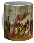 The Turkish Cafe Coffee Mug by Charles Marie Lhuillier