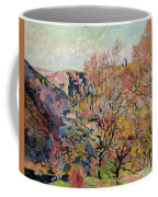 The Valley Of The Sedelle In Crozant Coffee Mug by Jean Baptiste Armand Guillaumin