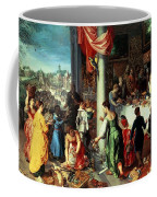The Winter Feast Coffee Mug by Hendrik van the Elder Balen