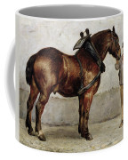 The Work Horse Coffee Mug by Otto Bache