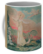 Thel In The Vale Of Har Coffee Mug by William Blake
