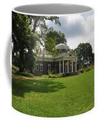 Thomas Jefferson's Monticello Coffee Mug by Bill Cannon