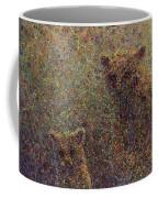 Three Bears Coffee Mug by James W Johnson