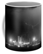 To The Right Budweiser Lightning Strike Bw Coffee Mug by James BO  Insogna