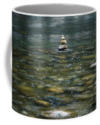 Tower Of Stones Coffee Mug by Joana Kruse