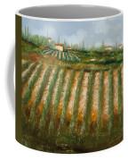 Tra I Filari Nella Vigna Coffee Mug by Guido Borelli