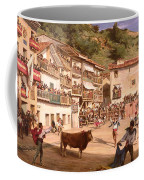 Training Fight In Biscay Coffee Mug by Gustave Colin