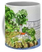 Treasure Island - California Sketchbook Project  Coffee Mug by Irina Sztukowski
