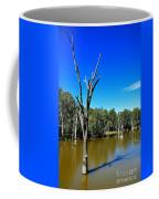 Tree Stumps In Beauty Coffee Mug by Kaye Menner