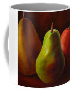 Tri Pear Coffee Mug by Shannon Grissom