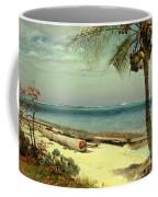 Tropical Coast Coffee Mug by Albert Bierstadt
