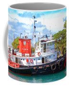 Tug On It Coffee Mug by Debbi Granruth