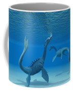Two Sea Dragons Coffee Mug by Corey Ford
