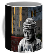 Urban Buddha  Coffee Mug by Linda Woods
